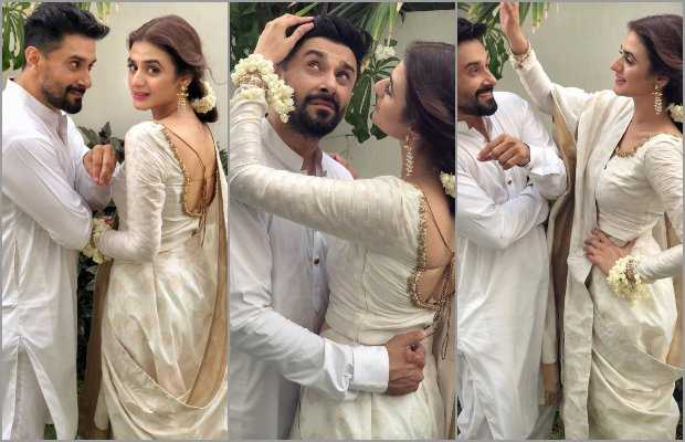 Hira Mani expresses love for husband in a romantic instagram post ...