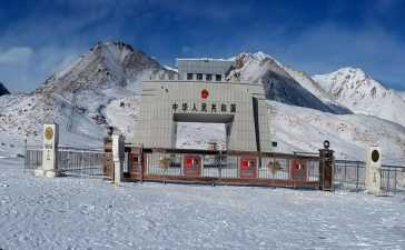 khunjerab pass pakistan china border