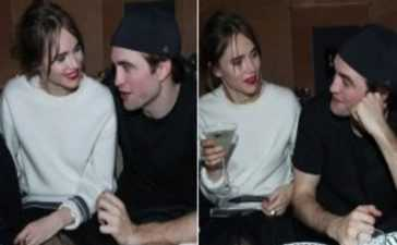 Robert Pattinson engagement