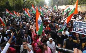 Students Protesting CAA