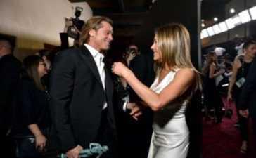 Brad Pitt and Jennife togather