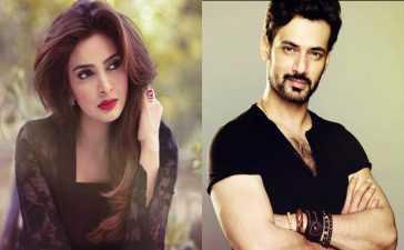 Zahid Ahmed and Saba Qamar