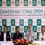 Zameen National Open Polo Championship 2020 kicks off at Lahore Polo Club