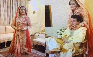 Anjuman and husband Lucky
