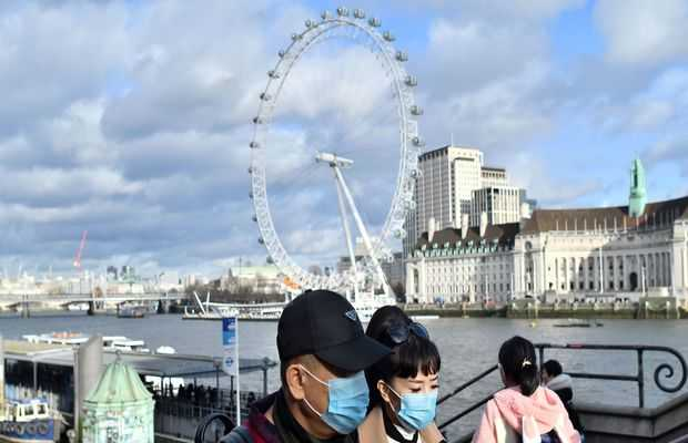 London sees first coronavirus case in Chinese national