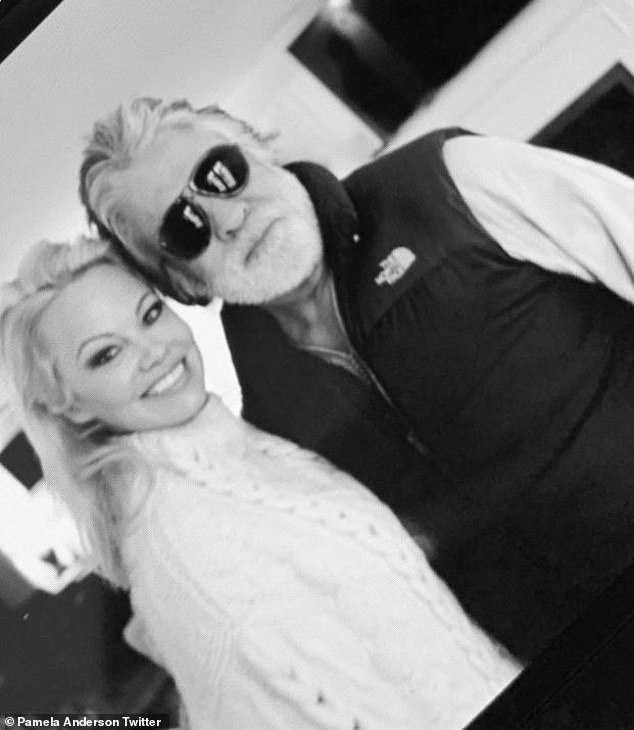 Pamela Anderson and husband Jon Peters