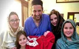 Afridi's daughter name