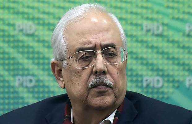 Anwar Mansoor Khan resigned