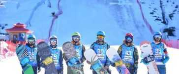 First Ever International Snowboarding Championship