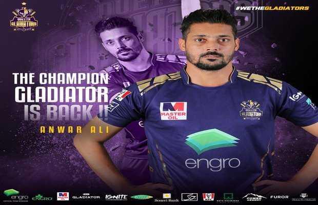 Anwer Ali replaces Umar Akmal