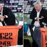 Dean Jones Karachi Kings Head Coach Sets an Example by Clearing Litter after KKvsPZ Match