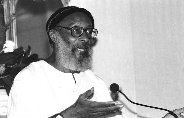 Barbadian Poet Edward Kamau