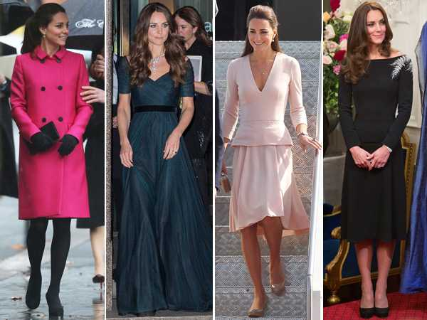 Kate Middleton top royal fashion