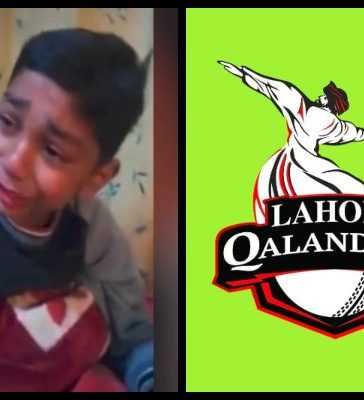 Lahore Qalandars young fan