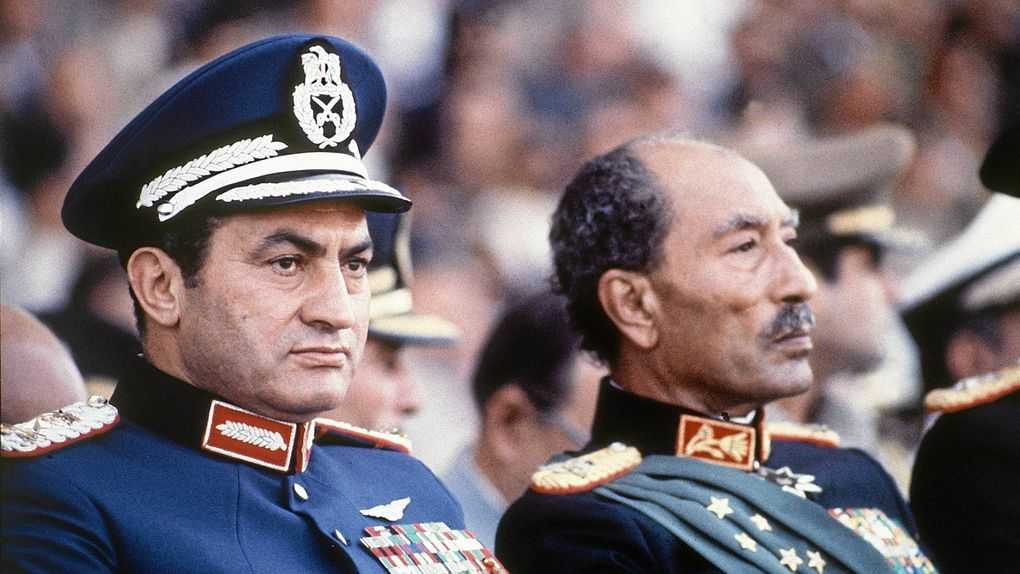 Mubarak as a commander