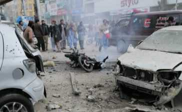 Blast in Quetta near Press Club