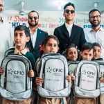 Jaafar Jackson Visits Underprivileged School on Last Day of Pakistan Tour
