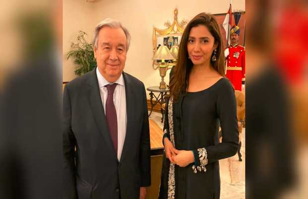 António Guterres mahira khan