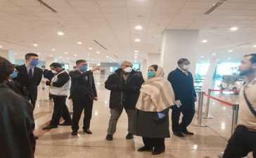 Repatriating Pakistanis return from China