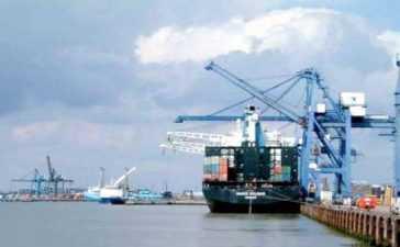Soybean vessel at Karachi