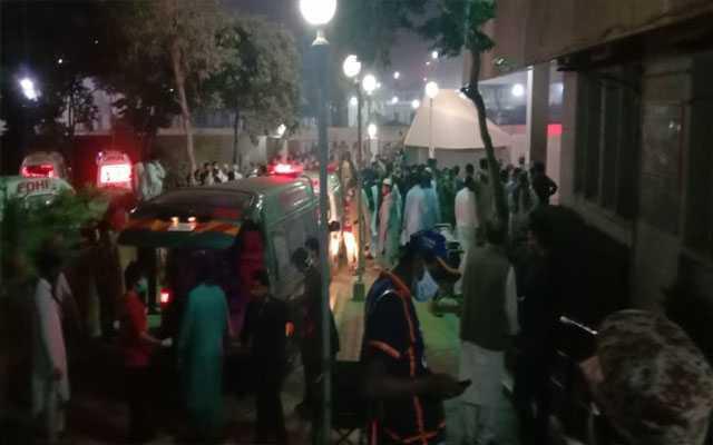 Poisonous gas in Karachi's Kemari area