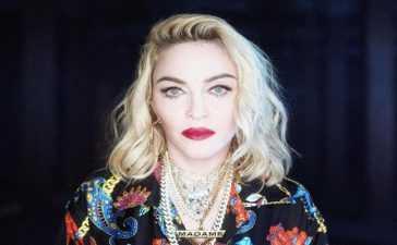 Madonna's arrival