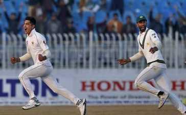 Naseem Shah's Hat-trick