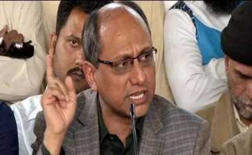 Saeed Ghani announcement