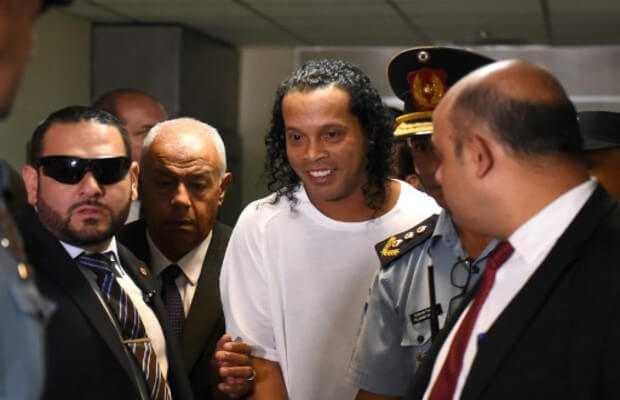 Arrested Ronaldinho