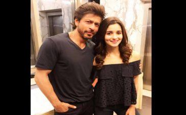 Shah Rukh Khan and Aalia Bhatt