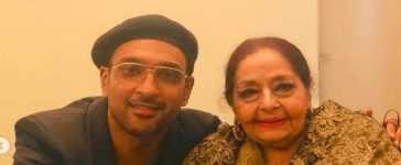 Ali Sethi with Farida Khanum