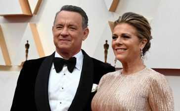 Tom Hanks and wife Rita