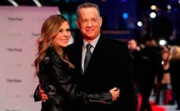 Tom Hanks and Wife