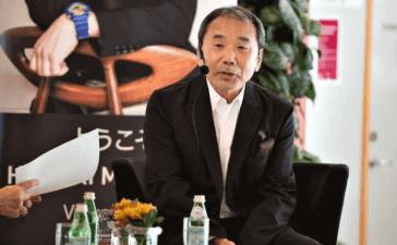 Novelist Haruki Murakami
