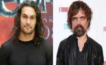 Peter Dinklage and Jason Momoa