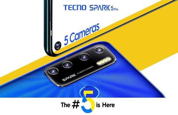 TECNO's New Spark Series