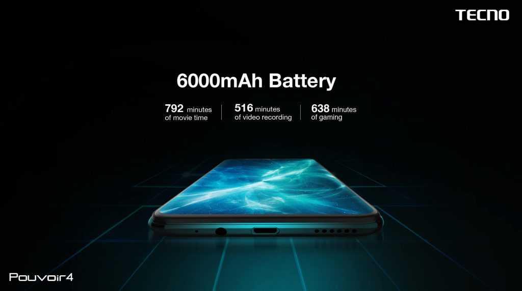 6000mah battery