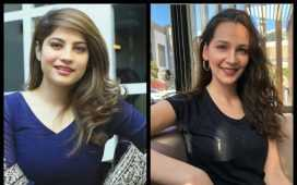 Neelum Muneer and Turkish Actress Gülsim Ali
