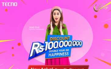 TECNO 100 Million Discount Offer