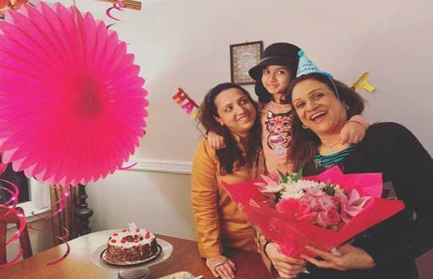 Bushra Ansari birthday celebration