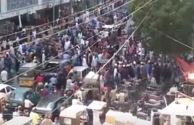 Zainab Market sealed