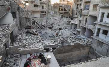 iftari in Syrian town of Ariha