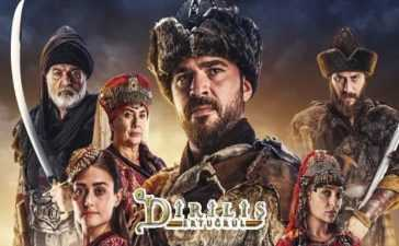 Diriliş: Ertuğrul viewers on youtube