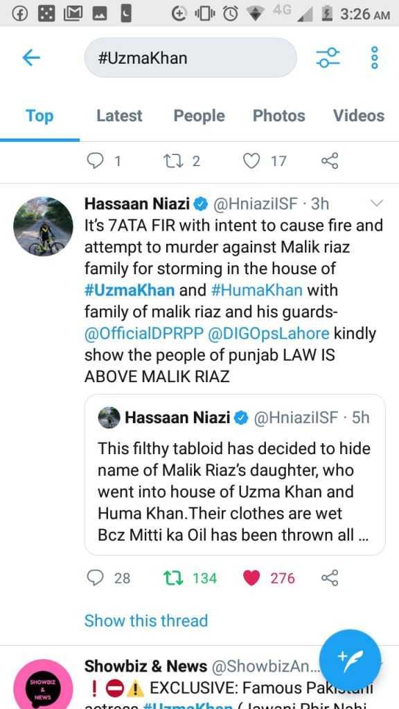 hassaan Niazi tweets