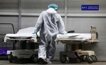 COVID-19 victims dead bodies
