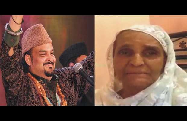 Amjad Sabri's mother death