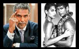 Milind Soman's Controversial Nude