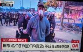 CNN reporter arrested