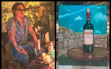 Johnny Depp's Painting