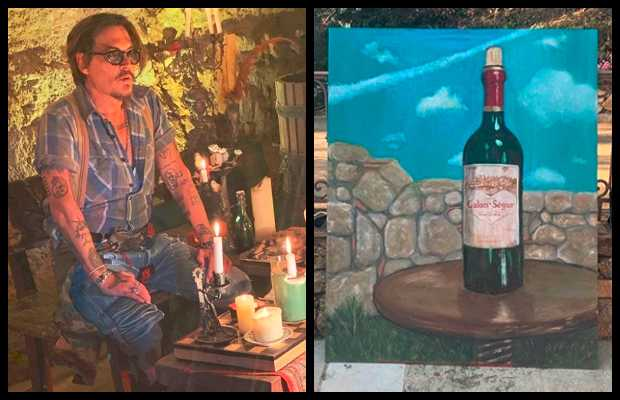 Johnny Depp's Painting